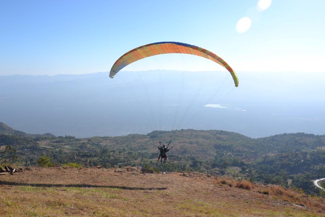Paragliding kilima resort Iten Kenia